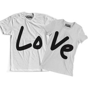 Camiseta Casal Namorado - Camisetas Manga Curta em São Paulo Zona ... 699e1da663793
