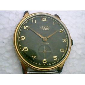 80ca4f26e48 Relogio De Pulso Antigo Roamer - Relógios no Mercado Livre Brasil