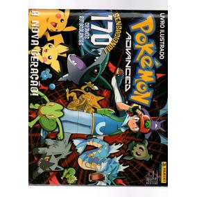 Album Pokémon Sensacional 170 Cromos Autocolantes Incomplet