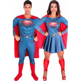 Fantasia Casal Super Mário Ou Luigi Adulto Kit Completo. 3. 47 vendidos -  São Paulo · Fantasia De Casal Superman Homem De Aço E Super Mulher Aço ce3e6f9c3d5