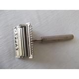 Antigua Afeitadora Manual Valet, U.s.a.