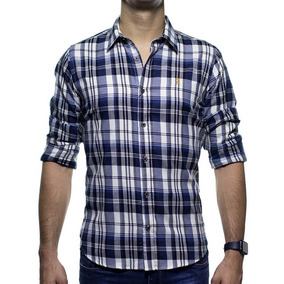 9ea010dc4 Camisa Xadrez Sergio K. - Camisa Masculino no Mercado Livre Brasil