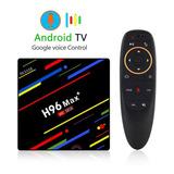 Android Tv Box H96 Max 4gb Ram + 32gb Rom