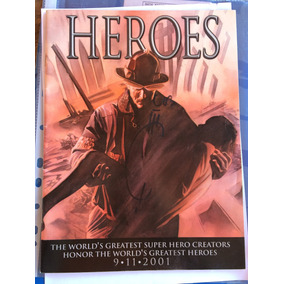 Heroes Revista De Ilustração 11 Setembro Firma Joe Quesada