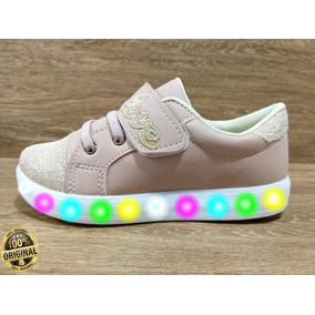 8c1a1595098 Tênis De Led Feminino Infantil Com Glitter Barato Promoção
