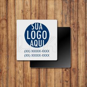 Imã De Geladeira Personalizado Brinde Empresa C/500 #im