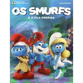 Smurfs A Vila Perdida Álbum E 50 Pacotinhos Lacrados