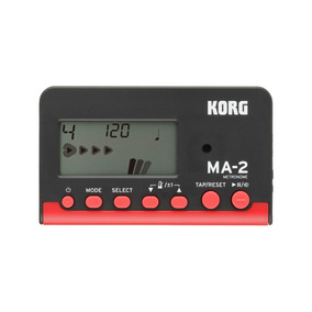 Metrônomo Digital Compacto Korg Ma-2 Bkrd Pronta Entrega