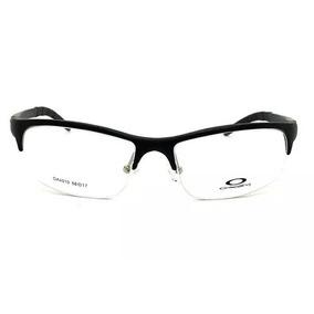 b64958fc046c9 Armação Oculos Grau Masculino Fino Sem Aro Ox4010 Promoção