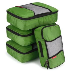 Green - 4pcs Viaje Impermeable Almacenamiento Bolsas Ro-6765