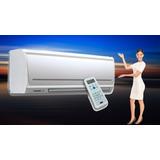 Aire Acondicionado Inverter Para Casas Instalado 12000 Btu*