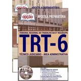 Apostila Preparatória Trt 6ª Região 2017 - Téc Judi - Admini