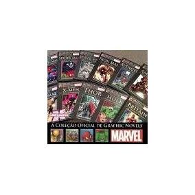 Coleção Oficial Marvel Graphic Novels - Edições- Capa Dura