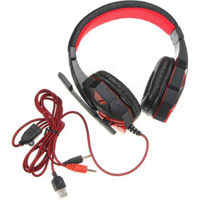 Usb 3.5mm Led Fone De Ouvido Correia De Cabeça Headset