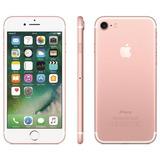 iPhone 7 32gb Ouro Rosa Desbloqueado Ios 10 Wi-fi + 4g Cpo