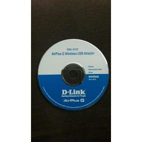 Cd De Instalação D- Link Manual Driver Guia Frete Grátis