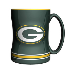 Taza De Cafe Ceramica Esculpida Nfl Green Bay Packers 742a46a5532
