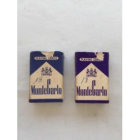 Baralhos Antigos Montecarlo - Playing Cards