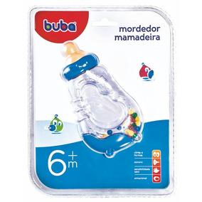 Mordedor Chocalho Mamadeira Azul 943 Buba