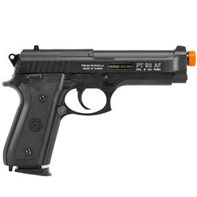 Pistola Airsoft Taurus Pt92 Slide Metal - Spring + 5000 Bbs