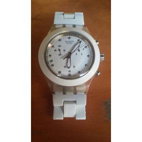 f911b3cc5e5 Relógio Swatch Irony Diaphane - Relógio Feminino no Mercado Livre Brasil