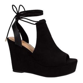f8406137d667f Sandalias Tipo Botin Mujer - Zapatos Negro en Mercado Libre México