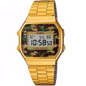 Relógio Casio Vintage Retro A168wegc 3df - Relógios De Pulso no ... 58cdd80951