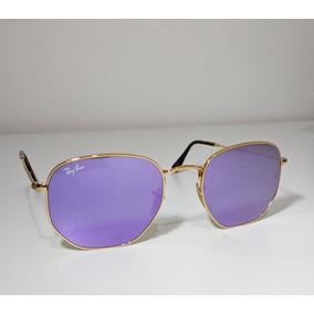 16141d6f9 Oculos Ray Ban Roxo Espelhado - Óculos no Mercado Livre Brasil