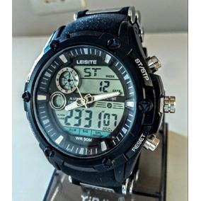979f49a7e96 Relógio Masculino Leisite Grande Militar Prova Dágua Barato · R  120