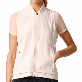 Chaleco adidas Impermeable Running Ropa Deportiva Mujer