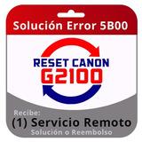 Reset Canon G2000 Impresoras - Impresoras y Repuestos en