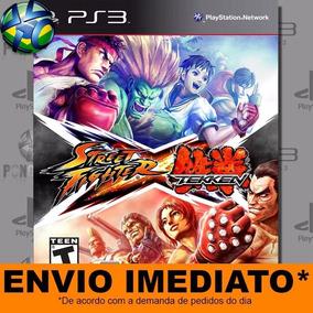 Jogo Ps3 Street Fighter X Tekken Psn Play 3 Mídia Digital