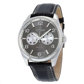 b977e9c6539 Citizen Eco Drive Titanium Pulseira De Couro - Relógios no Mercado ...