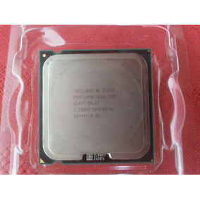 Procesador Intel® Pentium® E5200 Dual Core