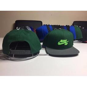 Gorro Snapback Nike Sb Original Nuevo Verde Letras Limon 3e444fd6f9c