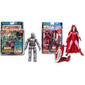 Lote Homem De Ferro Feiticeira Escarlate Marvel Legends