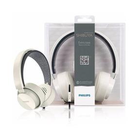 Headset Philips Shibuya Citiscape Branco - Original