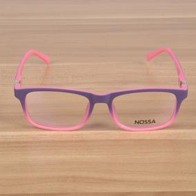 8bc79eae580ad Armação De Óculos Infantil Flexível Roxo Grau - Óculos no Mercado ...
