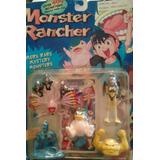 Set De Monstruos Monsters Rancher 5 Fig Con Carta Retro Rdf1