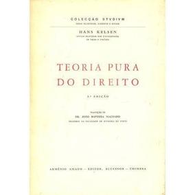 Livro Teoria Pura Do Direito Hans Kelsen Pdf