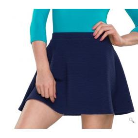 Falda Para Dama Kafe Color Azul Marino 164685 Pd.18.jm  a3363b60f6d4