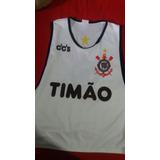 Colete De Treino Do Corinthians no Mercado Livre Brasil 29351c2e3d531