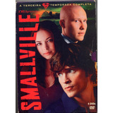Dvd - Smallville 3ª Temporada - 6 Dvds