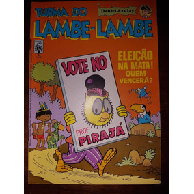 Gibi Turma Do Lambe-lambe Nº 6 Editora Abril 1982