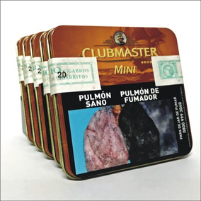 Cigarritos Clubmaster Mini Chocolate X 20. 5 Cajas (100 U.)