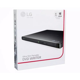 Leitor E Gravador De Dvd Externo - Lg Ultra Slim Portable