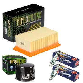 Filtro Ar Filtro Óleo Hiflo Velas Ngk Bmw F800 R 10-16 7913