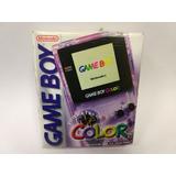 Game Boy Color Consola Con Caja Completito Garantizado!