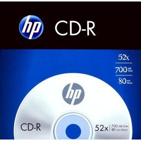 Cd-r Hp Envelope Com 1 700mb- 80min-52x