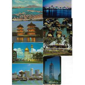 Lote Com 400 Cartões Postais Estrangeiros Diferentes